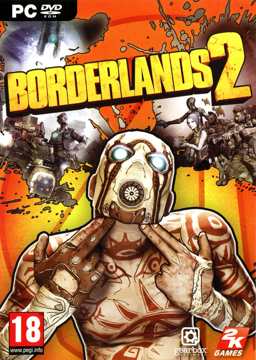 Cover for Borderlands 2.