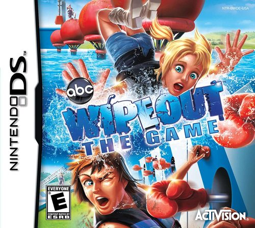 Cover for Wipeout: The Game.
