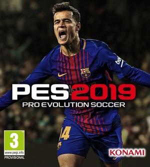 Cover for Pro Evolution Soccer 2019.