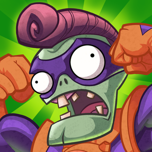 Cover for Plants vs. Zombies Heroes.
