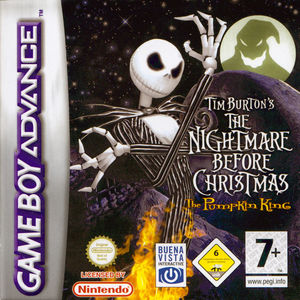 Cover for The Nightmare Before Christmas: The Pumpkin King.