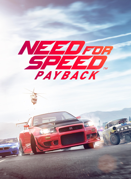 Cover for Need for Speed Payback.