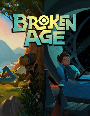 Cover for Broken Age.
