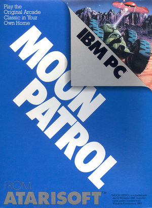 Cover for Moon Patrol.