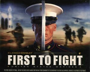 Cover for Close Combat: First to Fight.