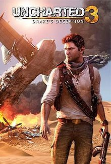 Cover for Uncharted 3: Drake's Deception.