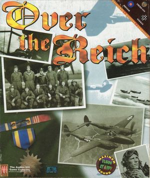 Cover for Over the Reich.