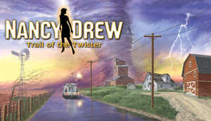 Cover for Nancy Drew: Trail of the Twister.