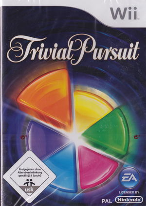 Cover for Trivial Pursuit.