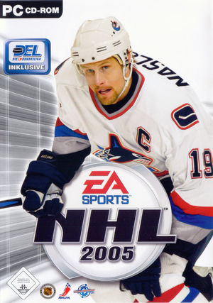 Cover for NHL 2005.