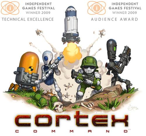 Cover for Cortex Command.