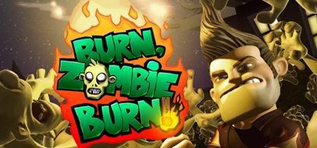 Cover for Burn Zombie Burn.