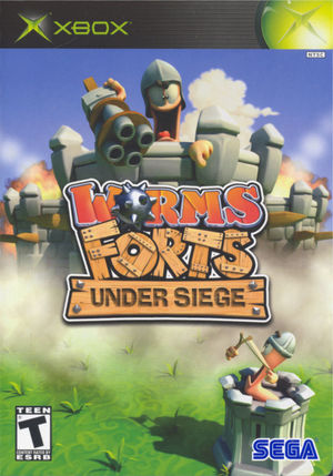 Cover for Worms Forts: Under Siege.