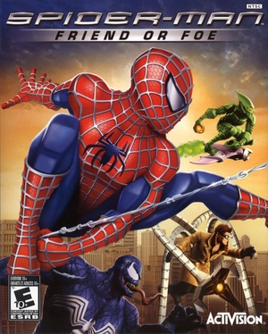 Cover for Spider-Man: Friend or Foe.
