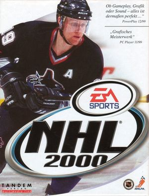 Cover for NHL 2000.