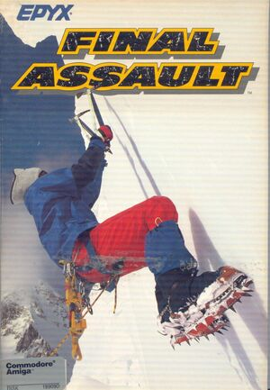 Cover for Final Assault.