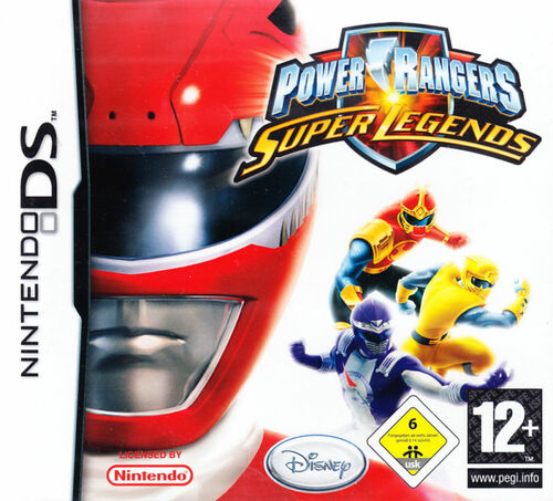 Cover for Power Rangers: Super Legends.
