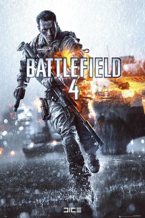 Cover for Battlefield 4.