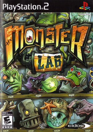 Cover for Monster Lab.