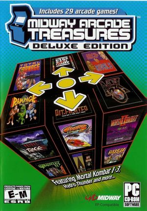 Cover for Midway Arcade Treasures Deluxe Edition.