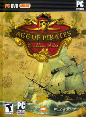 Cover for Age of Pirates: Caribbean Tales.