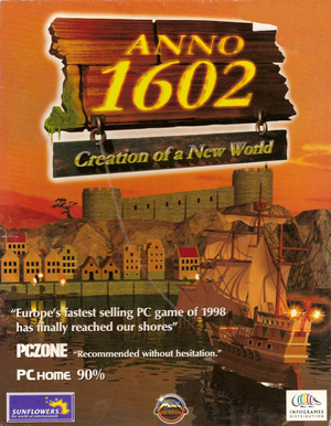Cover for Anno 1602.