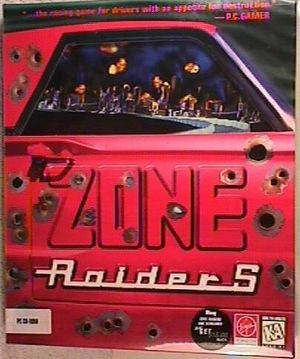 Cover for Zone Raiders.