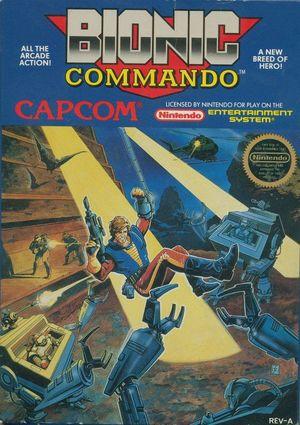 Cover for Bionic Commando.