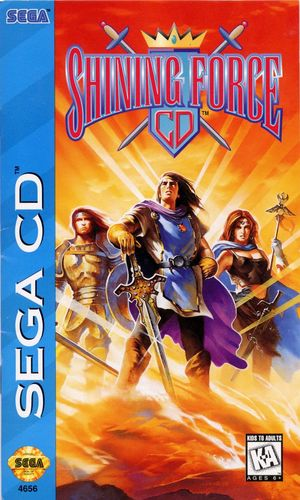 Cover for Shining Force CD.