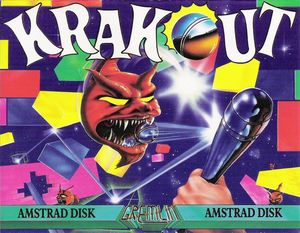 Cover for Krakout.