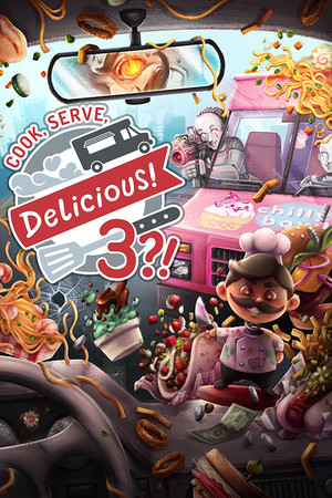 Cover for Cook, Serve, Delicious! 3.