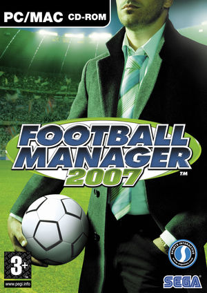 Cover for Football Manager 2007.