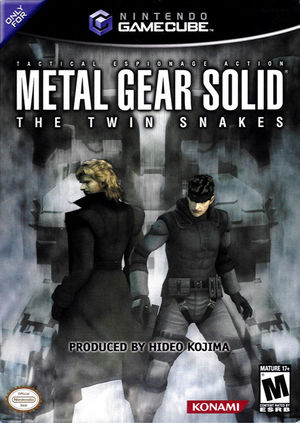Cover for Metal Gear Solid: The Twin Snakes.