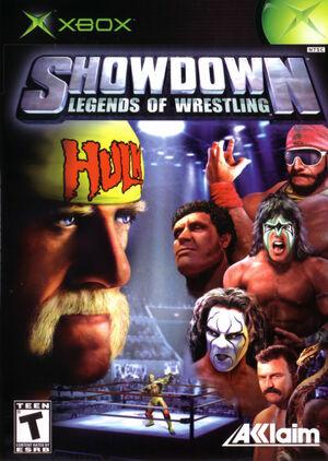 Cover for Showdown: Legends of Wrestling.