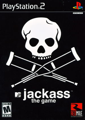 Cover for Jackass: The Game.