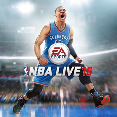 Cover for NBA Live 16.