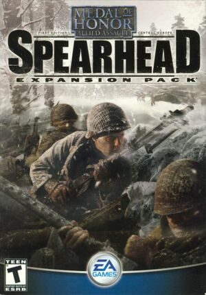 Cover for Medal of Honor: Allied Assault - Spearhead.