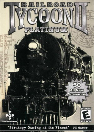 Cover for Railroad Tycoon II.