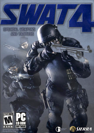 Cover for SWAT 4.
