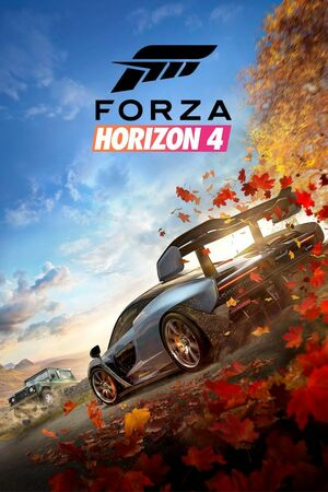 Cover for Forza Horizon 4.