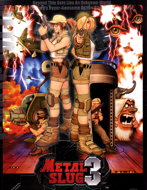 Cover for Metal Slug 3.