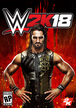 Cover for WWE 2K18.