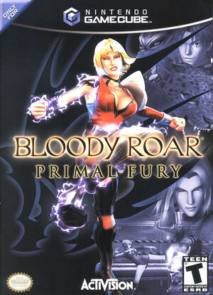 Cover for Bloody Roar: Primal Fury.