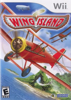 Cover for Wing Island.