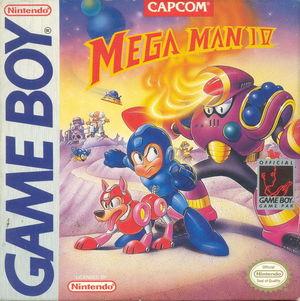 Cover for Mega Man IV.