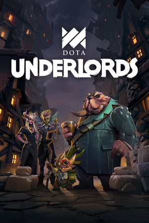 Cover for Dota Underlords.