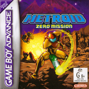 Cover for Metroid: Zero Mission.