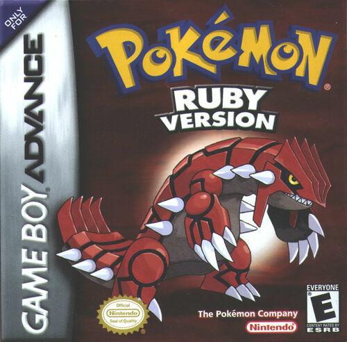 Cover for Pokémon Ruby.