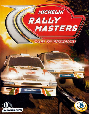 Cover for Michelin Rally Masters: Race of Champions.