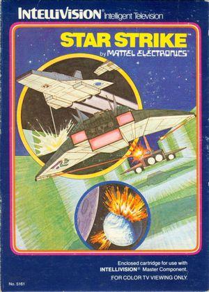 Cover for Star Strike.
